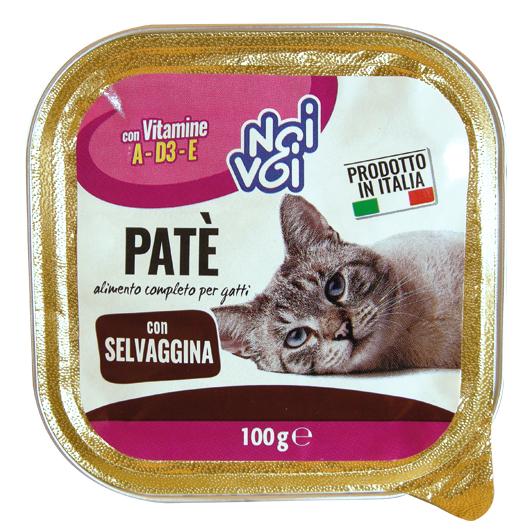 Patè con Selvaggina 100 g