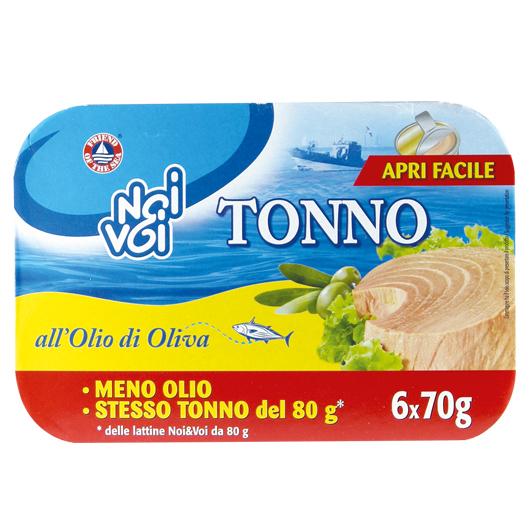 Tonno all'Olio di Oliva 6 x 70 g