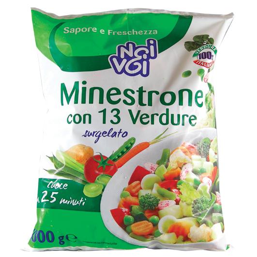 Minestrone con 13 verdure 1000 g