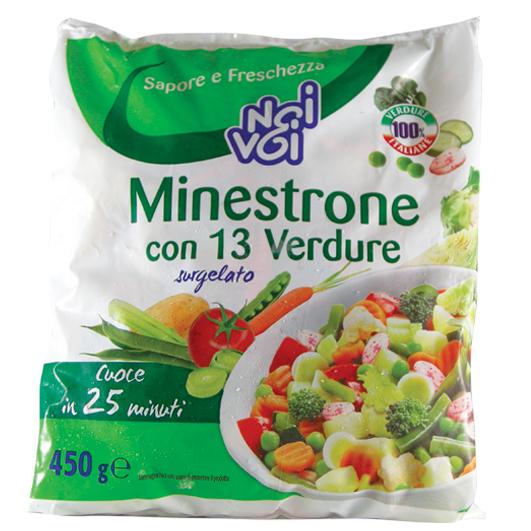 Minestrone con 13 verdure 450 g
