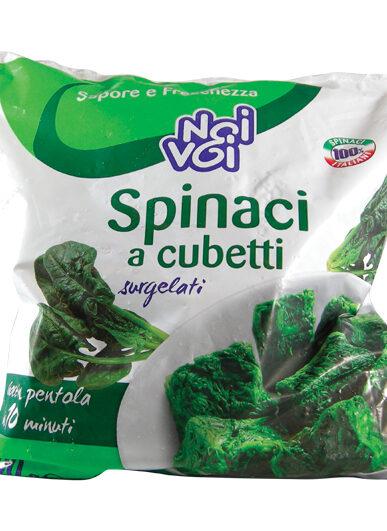 Spinaci a cubetti 1000 g