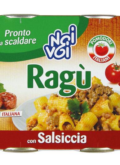 Ragù con Salsiccia 2 x 180 g