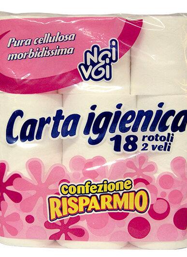Carta Igienica 18 r.