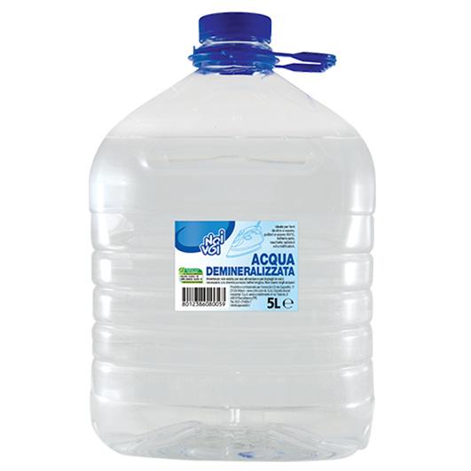 Acqua Demineralizzata 5 Litri