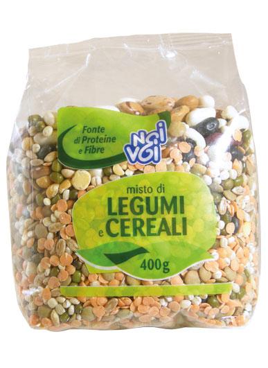 Misto di Legumi e Cereali secchi 400g