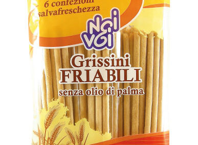 Grissini Friabili senza olio di palma 300 g