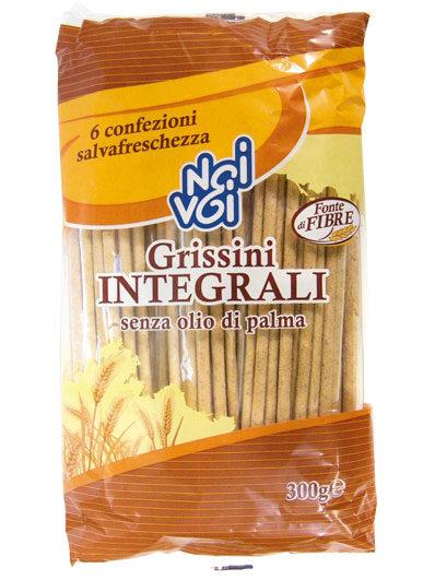 Grissini Integrali senza olio di palma 300 g
