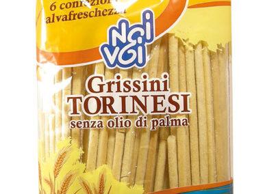 Grissini Torinesi senza olio di palma 300 g