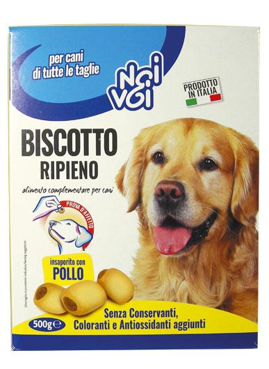 Biscotto Ripieno insaporito con Pollo 500 g