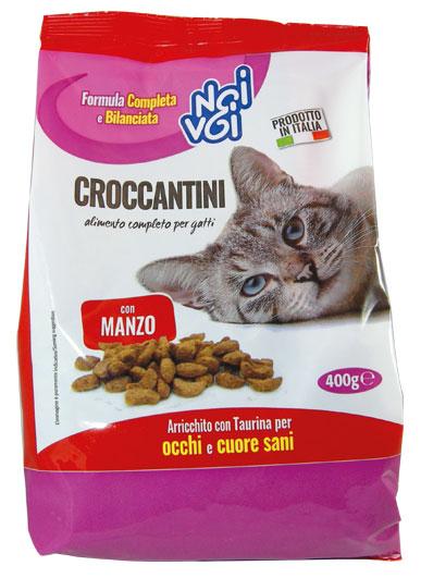 Croccantini con Manzo 400 g