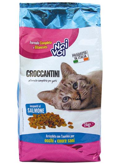 Croccantini insaporiti al Salmone 2 Kg