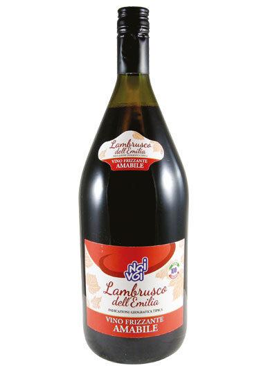 Lambrusco dell'Emilia IGT vino frizzante amabile 1,5 L