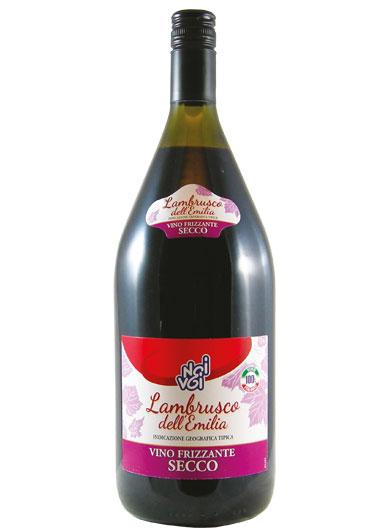 Lambrusco dell'Emilia IGT vino frizzante secco 1,5 L