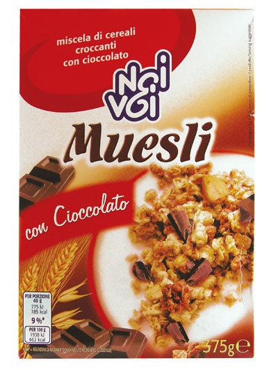 Muesli con Cioccolato 375 g