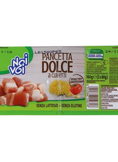 Pancetta Dolce a cubetti 160 g