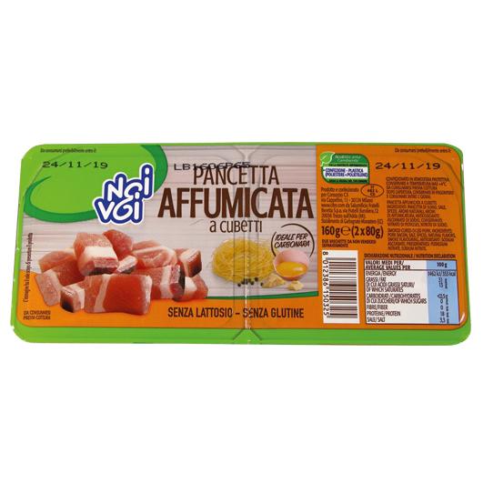 Pancetta Affumicata a cubetti 160 g
