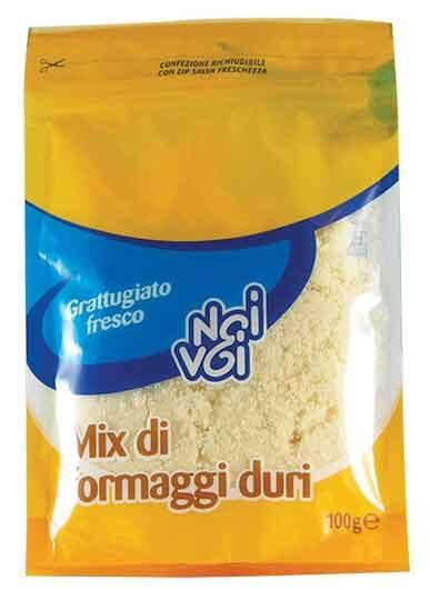 Mix di formaggi duri grattugiato 100 g