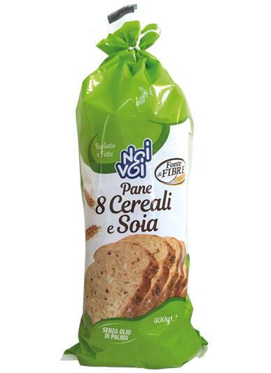 Pane 8 Cereali e Soia 400g