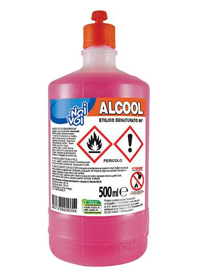 Alcool Etilico 90° 500 ml