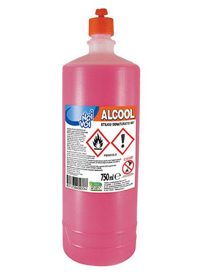 Alcool Etilico 90° 750 ml