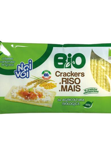 Crackers di Riso e Mais BIO 150 g