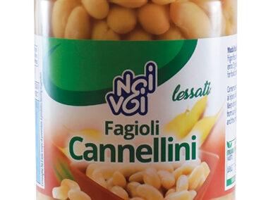 Fagioli Cannellini lessati 300g
