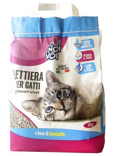 Lettiera per gatti 5 kg